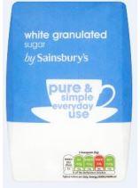 Sainsburys Granulated Sugar 1kg