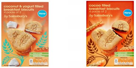 by Sainsbury's Breakfast Biscuits