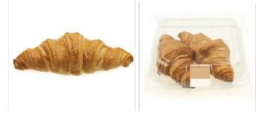 Sainsbury's In store bakery all butter croissants