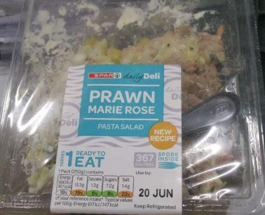 Prawn Pasta Salad
