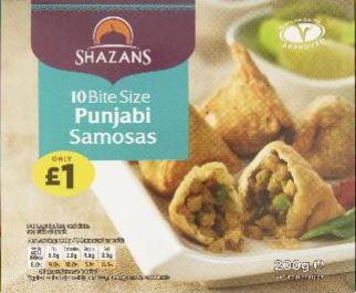 Shazans 10 Bitesize Punjabi Samosas