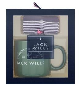 Jack Wills Mug and Socks Gift set (mens)