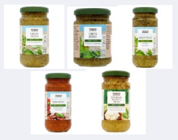 Tesco pesto