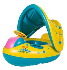 Inflatable Baby Float Boat with Sunshade