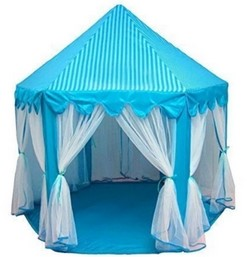 Princess Castle Tent with Star Lights