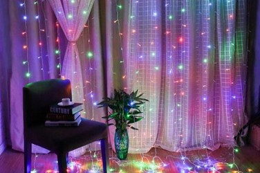 LED Fairy Lights Curtain