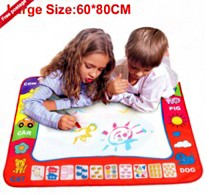Magic Pen Doodle Mat Board with children