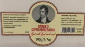 Rabbie's Super Horseradish