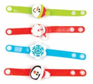 Flashing Christmas Bracelets