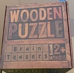 Wooden Puzzle 1